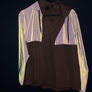 Reflective FILA jacket
